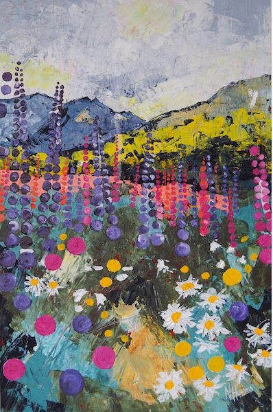 Wildflower Bonanza by Narelle Huggins